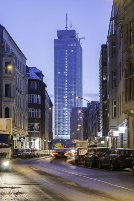 Berlin Aussenansicht bei Nacht Overview