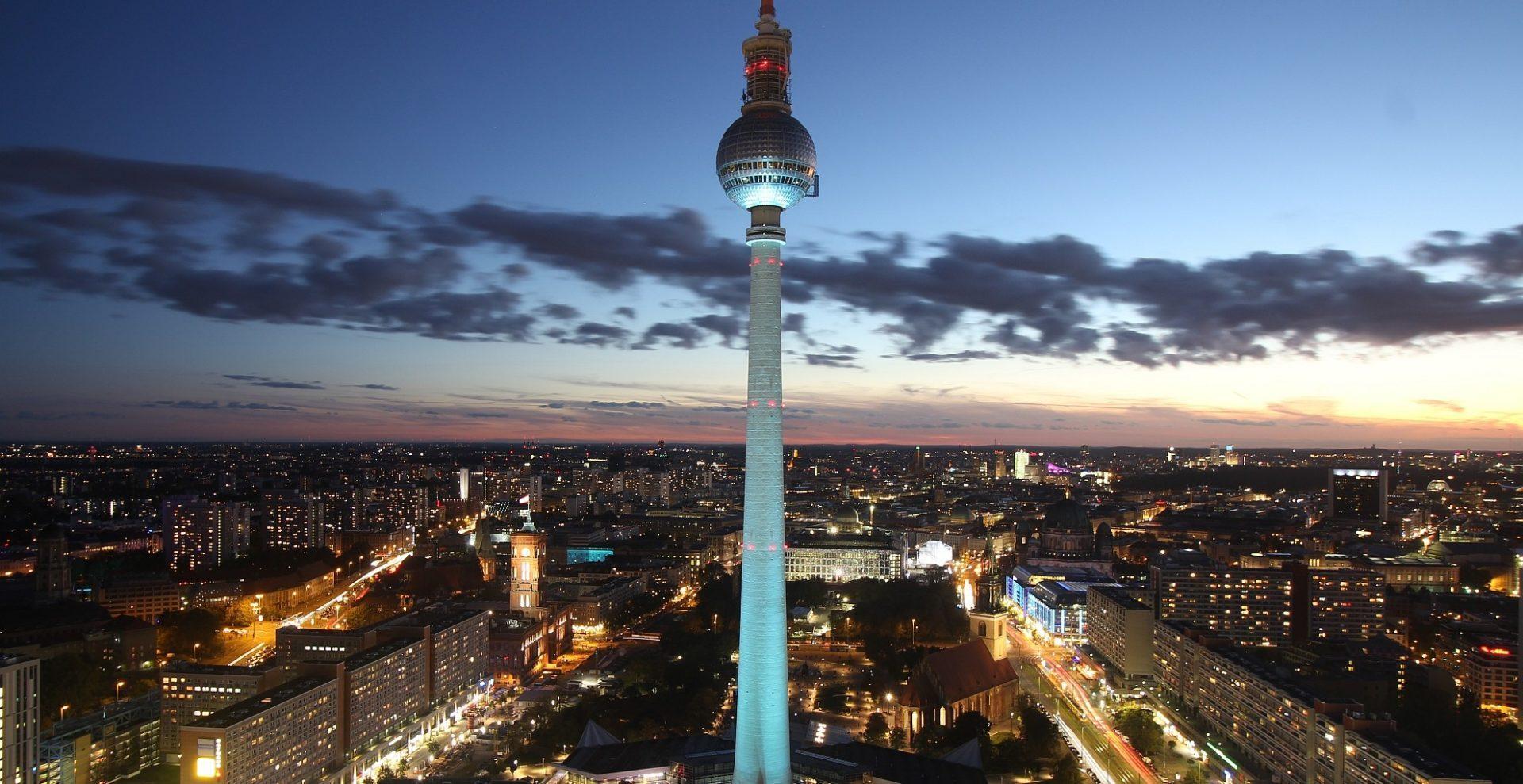 Panorama Aussicht Sky Suiten Berlin